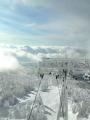 山頂展望台からの雲海